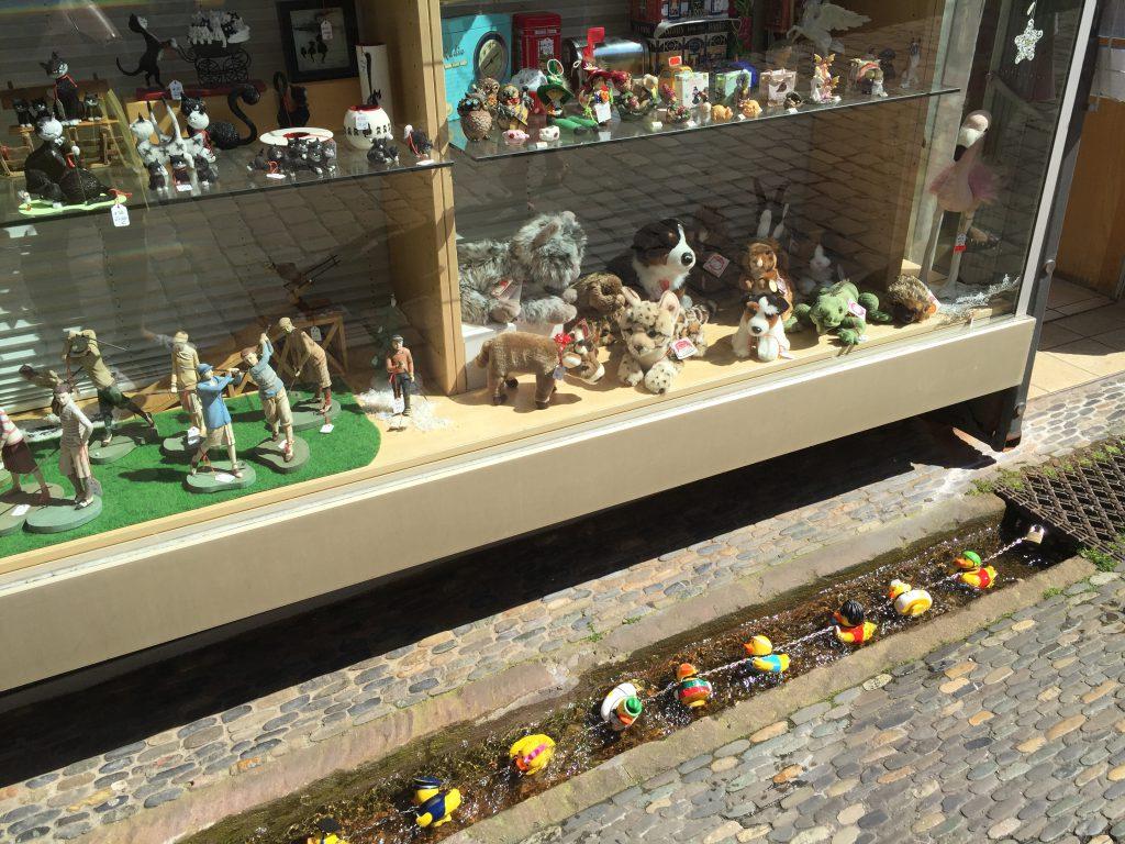 freiburg-kanal-şehri-almanya